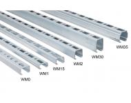 Rail de montage WALRAVEN BIS RapidRail - WM15 30 x 20 mm - 2 mètres - 6505015