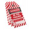Lot de 10 étiquettes de consignation THIRARD Danger : ne pas toucher - 091131