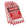 Lot de 10 étiquettes de consignation THIRARD Danger : ne pas mettre en marche - 091133