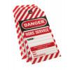 Lot de 10 étiquettes de consignation THIRARD Danger : Hors service - 091135