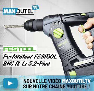 MaxoutilTV BHC18 Festool