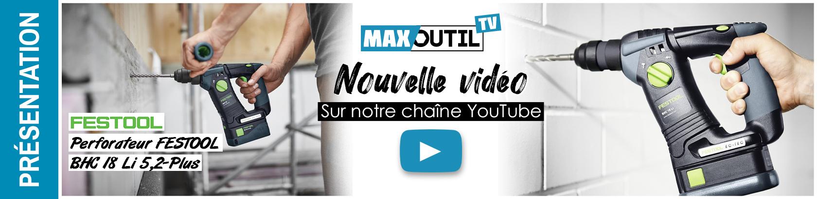 Maxoutil BHC18 Festool