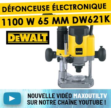 MaxoutilTV défonceuse DEWALT