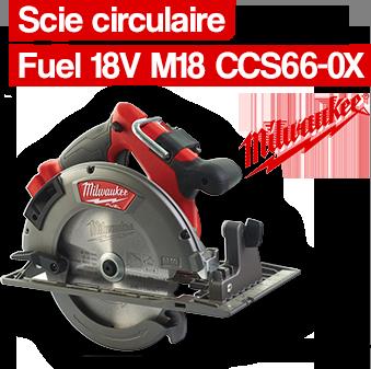 Scie circulaire MILWAUKEE SDB55030