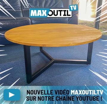 MaxoutilTV Tuto table basse