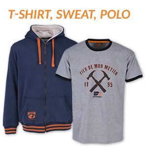 T-shirt, sweat, polo BOSSEUR