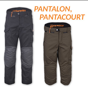Pantalon, pantacourt BOSSEUR