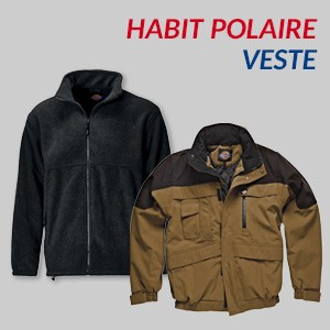 Habit polaire, veste Dickies