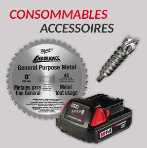 Consommables accessoires Milwaukee