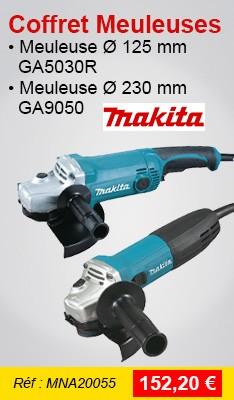 Coffret Meuleuses MAKITA GA9050 + GA5030R - MEU052
