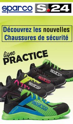 Chaussure de sécurité S24 SPARCO Pratice