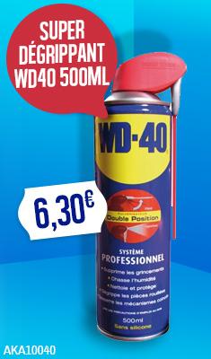 Super Dégrippant WD40 500ML - 33034/EU