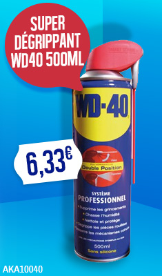 Super Dégrippant WD40 500ML - 33034/EU