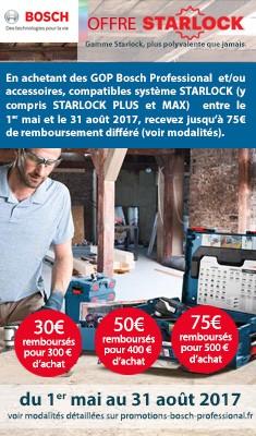 Offre Starlock Bosch