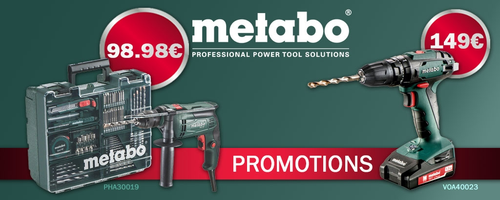Promotion Metabo