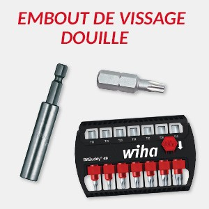 Embout Douille Wiha