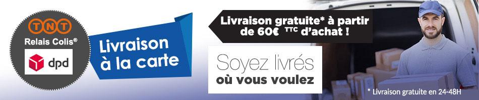 Livraison gratuite 60 euros