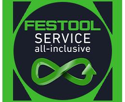 Pictogramme garanties 'all-inclusive' Festool